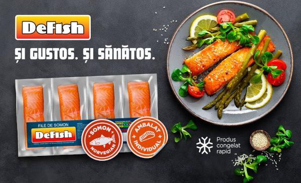 DeFish dezvăluie secretele unei diete echilibrate în cea mai nouă campanie de comunicare