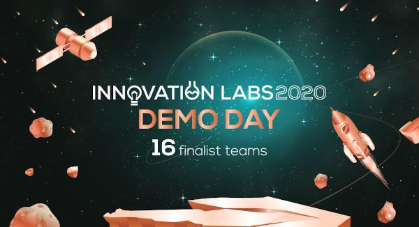 Cele 16 echipe finaliste Innovation Labs 2020 se întâlnesc pentru finala programului, Demo Day, în transmisiune directă