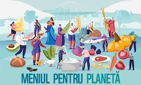 """WWF propune """"Meniul pentru Planetă"""", o alimentație benefică și pentru sănătate, și pentru planetă"""