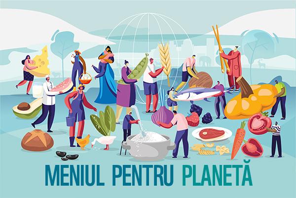 Meniul pentru planeta