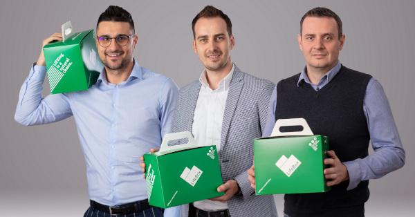 Radu Bălăceanu, Florin Scarlat, Lukasz Kuzniar, cofondatori LifeBox