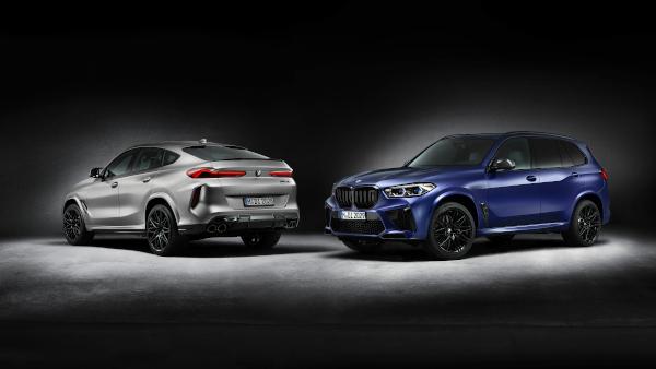 Performanţă înaltă, exclusivitate maximă: variantele First Edition ale modelelor BMW X5 M Competition şi BMW X6 M Competition