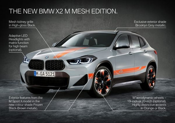 The new BMW X2 xDrive20i M Mesh Edition 1