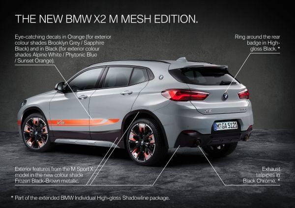 The new BMW X2 xDrive20i M Mesh Edition 2