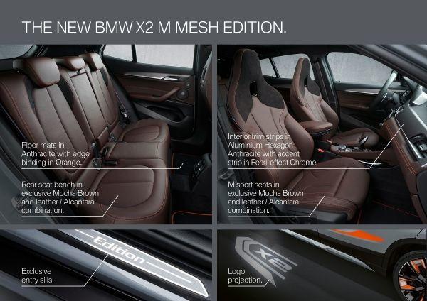 The new BMW X2 xDrive20i M Mesh Edition 3