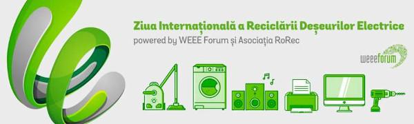 500.000 kg de deșeuri electrice colectate în campania națională a Asociației RoRec dedicată Zilei Internaționale a Reciclarii Deșeurilor Electrice