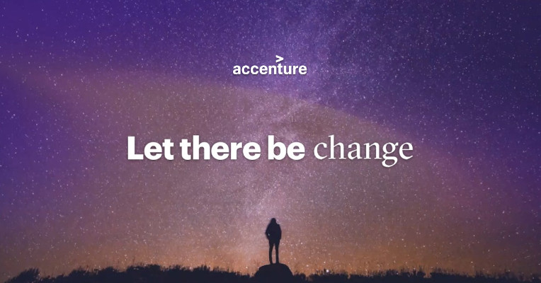 Accenture Let there be change