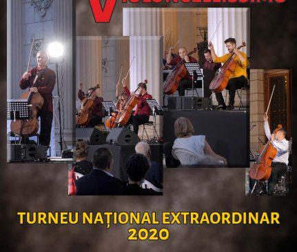 Primele trei concerte din turneul național Violoncellissimo – în weekend-ul 9-11 octombrie
