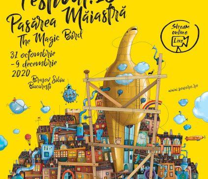 """Festivalul SoNoRo XV """"Pasărea Măiastră"""", o ediție inspirată de Constantin Brâncuși: 31 octombrie-9 decembrie 2020, la Brașov, Sibiu, București și online"""