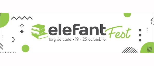 Începe elefantFest: peste 80 de lansări de carte și întâlniri cu autorii vor avea loc în această săptămână
