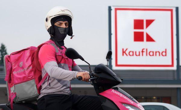 foodpanda va livra rapid produse de la Kaufland România