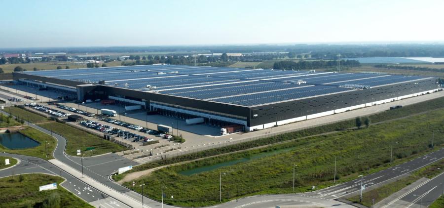 PVH Europe - cel mai puternic acoperiș din panouri solare din lume