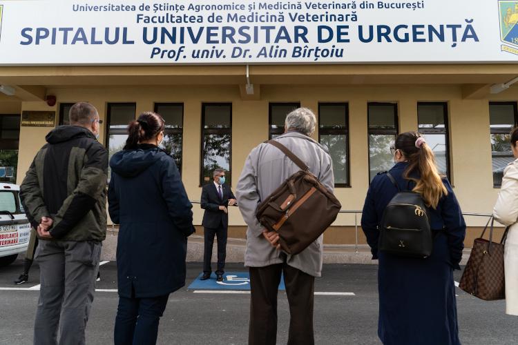 primul Spital Universitar Veterinar de Urgenţă din România