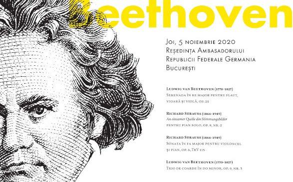 """Ultimul concert online al Festivalului SoNoRo XV """"Pasărea Măiastră"""" – un elogiu """"Á Beethoven"""""""