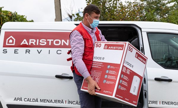 Peste 170.000 de beneficiari în cadrul campaniei umanitare Ariston Comfort Challenge