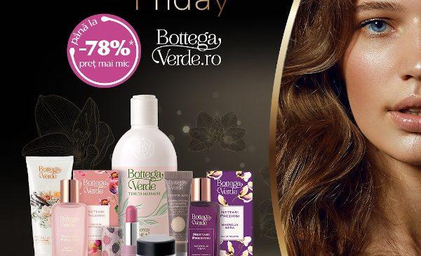 De Black Friday, BottegaVerde.ro dă startul cumpărăturilor de cadouri pentru cei dragi cu reduceri de până la 78%