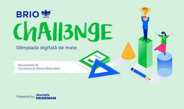 BRIO CHALLENGE, prima olimpiadă digitală de matematică din România