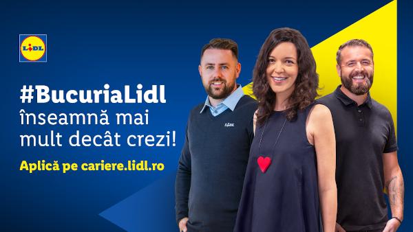 Lidl lansează o nouă campanie de brand de angajator