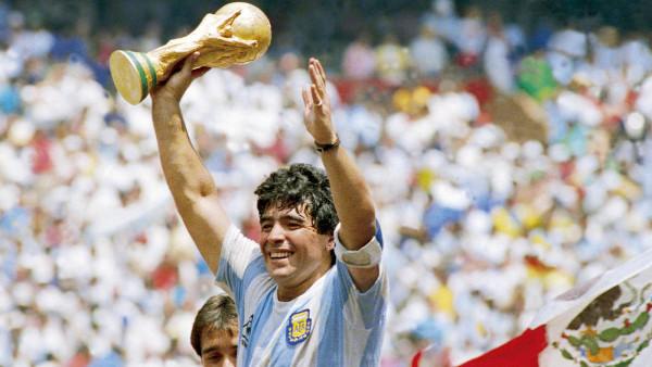 """""""Sunt mulțumit că am adus fericirea oamenilor cu o minge"""" – Diego Armando Maradona"""