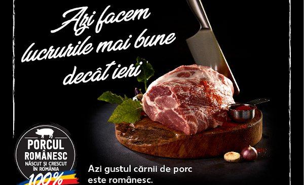 Kaufland dezvoltă primul program agricol pentru carne de porc românească în magazine și introduce noi standarde de calitate pentru creșterea porcilor