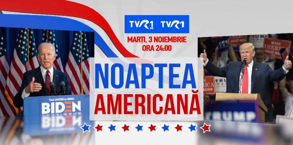 """Focus pe """"Noaptea americană"""", într-o ediție specială a Știrilor TVR"""