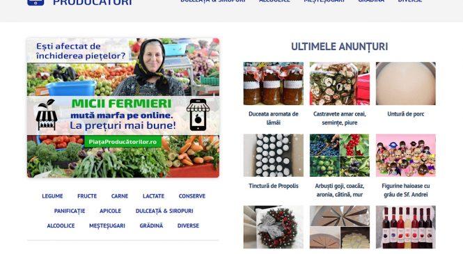 Prima platformă online deschisă micilor fermieri, Aristarch Software lansează PiataProducatorilor.ro