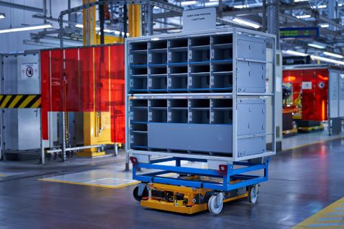 Smart Transport Robot BMW Group Logistics