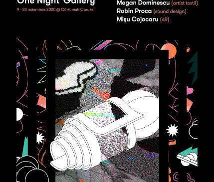 Proiectul One Night Gallery, Tapiserie în realitate augmentată, la Cărturești Carusel