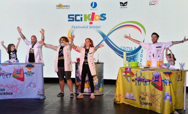 Cel mai mare festival al științei dedicat copiilor se întoarce – SCIKiDS ediția 8 are loc pe 28 și 29 noiembrie
