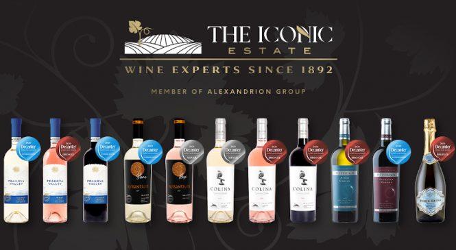 Vinurile The Iconic Estate, din portofoliul Alexandrion Group, au cucerit medalii la cea mai mare şi influentă competiţie dedicată vinurilor – Decanter World Wine Awards 2020