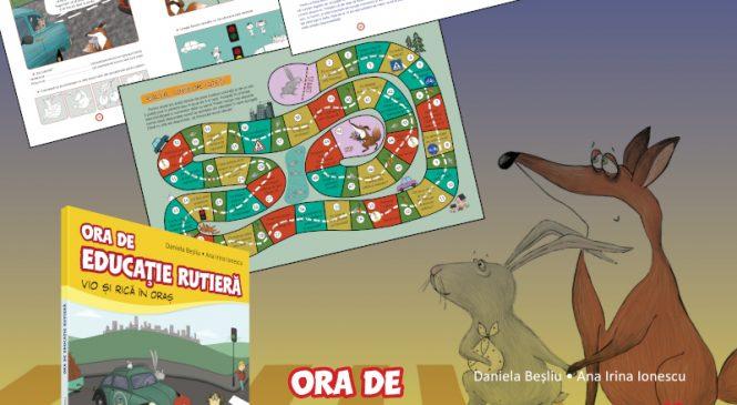 Asociația EDIT și Editura Corint lansează primul manual de educație rutieră pentru copii: Ora de educație rutieră. Vio și Rică în oraș