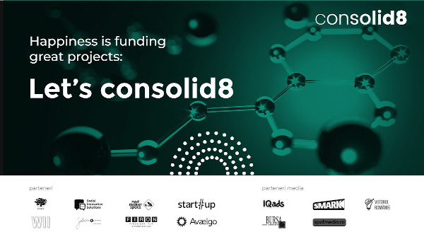 Antreprenorii sociali și cei din industriile creative au acum o platformă de crowdfunding gratuită: consolid8, dezvoltată la inițiativa fonduri-structurale.ro