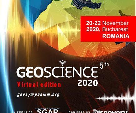 GEOSCIENCE 2020, cel mai mare eveniment de geofizică din România