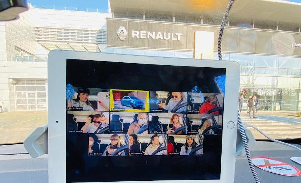 Primul concert VUNK exclusiv online transmis prin live streaming în vehiculele Renault ZOE