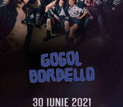 Concert Gogol Bordello la Bucuresti pe 30 iunie 2021