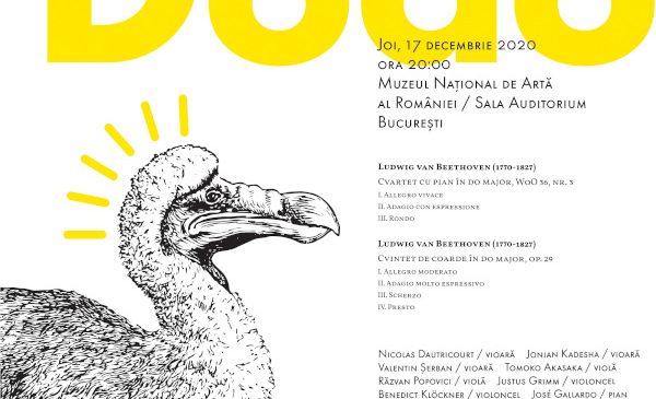 DODO – concert dedicat aniversării compozitorului Ludwig van Beethoven, un post-scriptum elegant al Festivalului SoNoRo