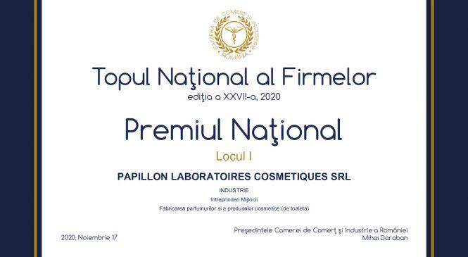 Încrederea consumatorilor în brandul LONCOLOR se traduce prin rezultate financiare spectaculoase pentru Papillon Laboratoires Cosmetiques, validate de premiile obținute