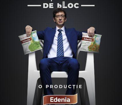 Saatchi & Saatchi + The Geeks dezvăluie totul despre cine este Eduard, președinte de bloc și cum vrea el să facă lumea un bLOC mai bun