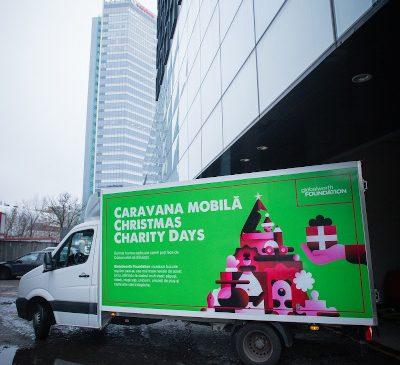 Caravana Globalworth Christmas Charity Days a împlinit 450 de dorințe de Crăciun