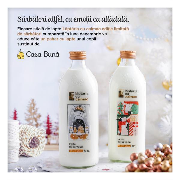 Laptaria Cu Caimac_Sticle Festive