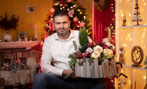 FlorideLux.ro estimează un volum dublu de comenzi de flori și decorațiuni în perioada Sărbătorilor, comparativ cu anul trecut