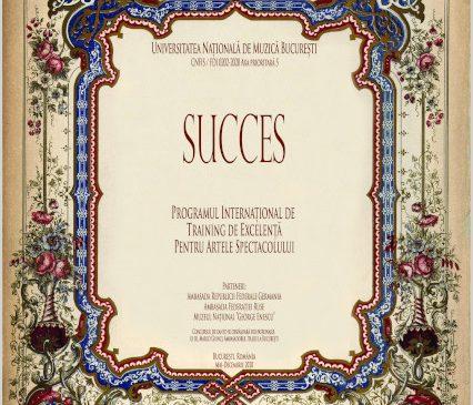 Succesul Grand Prix la Universitatea Naţională de Muzică Bucureşti