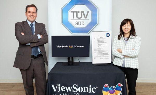 ViewSonic colaborează cu TÜV SÜD în vederea testării unei funcții pentru monitoare destinate utilizatorilor care suferă de discromatopsie