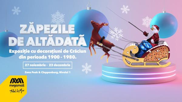"""Mega Mall recreează atmosfera iernilor din trecut în cadrul expoziției """"Zăpezile de Altădată"""""""