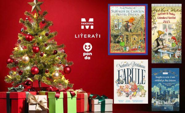 4 cadouri cu cele mai frumoase povești de Craciun, pentru cei mari și cei mici, de la Pandora M