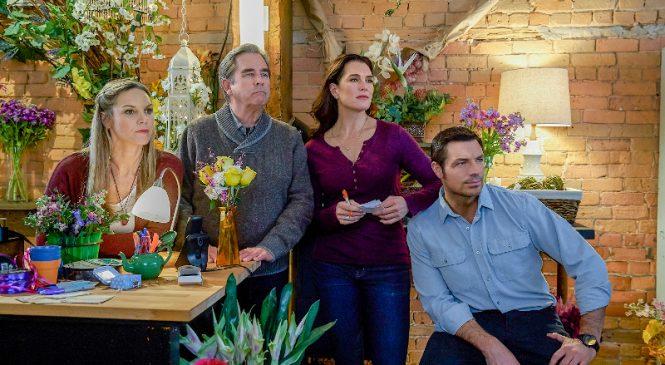 """Seria de filme """"Misterul din florărie"""", cu Brooke Shields în rol principal, în decembrie la AXN"""