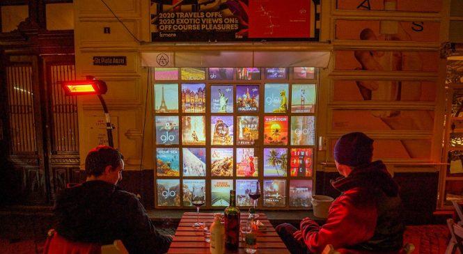 City break digital curatoriat de One Night Gallery la glo™ OFF COURSE BOULEVARD