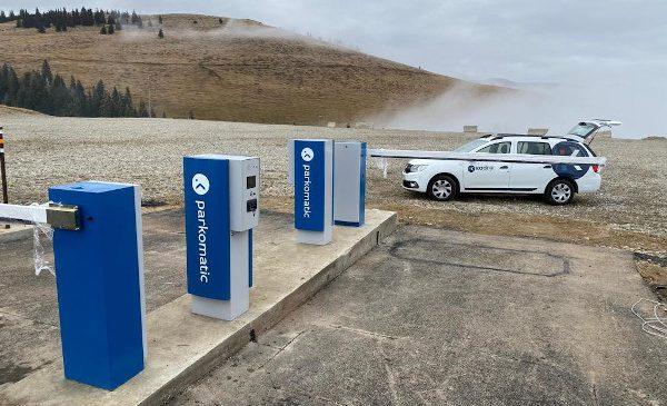 Sistem de parcare Parkomatic de la KADRA în stațiunile Cavnic, Rânca și Predeal
