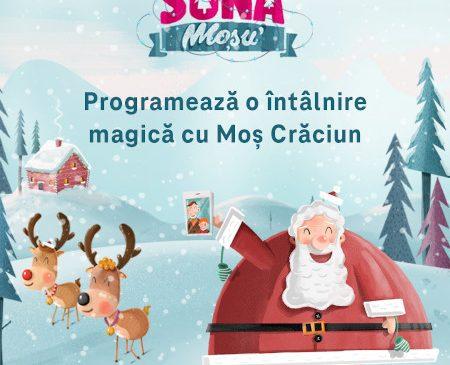 Telekom Romania lansează proiectul Sună Moșu', prin care readuce copiilor bucuria întâlnirii cu Moș Crăciun