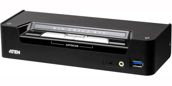 ATEN a lansat primul switch KVMP hibrid cu conectivitate USB-C 4K din lume